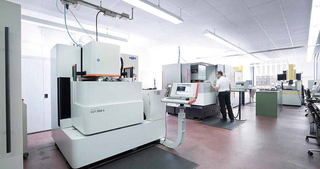 Werkzeugbau mit modernster Maschinentechnologie
